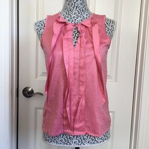 MNG Suit Pink Coral Sleeveless Top